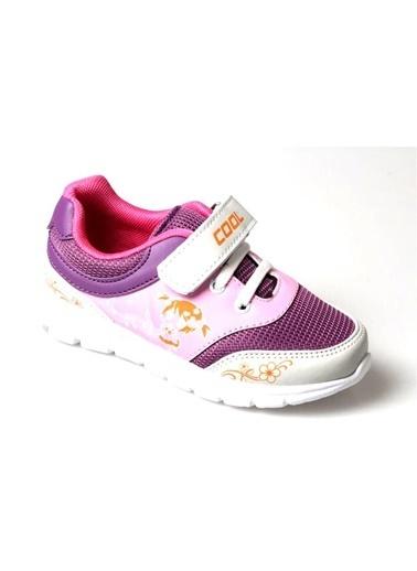 Cool Kız Çocuk(3 Renk) Günlük Spor Ayakkabı Mor